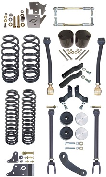 "Currie JK 4"" Standard Suspension Kit"
