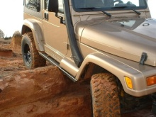 C4x4 TJ Wrangler Rocker Guards