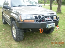 C4x4 WJ Grand Cherokee TrailBlazer Package - Bumper/Prerunner/Skid