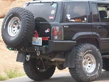 C4x4 Jeep Grand Cherokee ZJ Tire Carrier