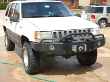 C4x4 ZJ Grand Cherokee TrailBlazer Winch Bumper