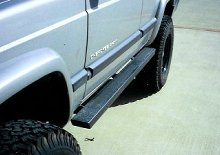 "C4x4 2x4"" XJ rocker guards"