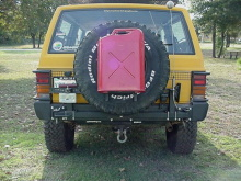 C4x4 Jerry Can Mount