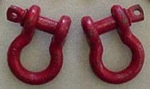 "3/4"" d-ring shackle, Made in USA, each"