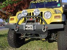 C4x4 Jeep TJ/YJ High-clearance Winch Bumper