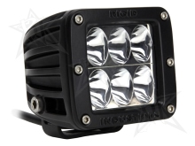 Rigid Industries Dually D2 LED Light - Driving - White - Single