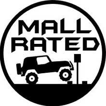 Mall Rated decal