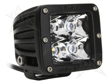 Rigid Industries Dually - LED Light - Spot - White - Single