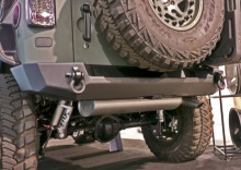 Expedition One Jeep JK Core Series Rear Bumper & Tire Carrier