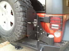 Expedition One Jeep JK Rotopax/Geri can mount