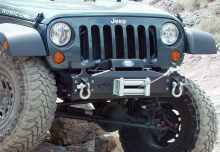 Expedition One Jeep JK BasicDX Winch Bumper