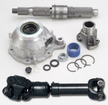 Rugged Ridge SYE/CV driveshaft combo, NP231