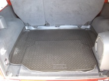 Husky Rear Cargo Liner, 2007-2010 Jeep JK Unlimited 4 Door, Black