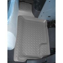 Husky Liner 2nd Seat Floor Liner, 2007-2010 Jeep JK Unlimited 4 Door, Black