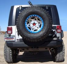 M.O.R.E. Jeep JK Rear Bumper w/Tire Carrier