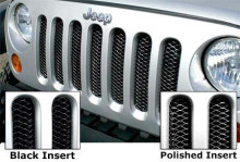 Rampage 3D Grille - Jeep JK - Diamond Black