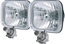 Rampage H4 Headlight Conversion Kit - 200mm Rectangle