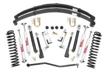 "Rough Country Jeep XJ Cherokee 4.5"" X-Series Suspension Lift Kit"