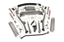 "Rough Country Jeep XJ 4.5"" X-series Long Arm Suspension Lift Kit, AAL, NP242"