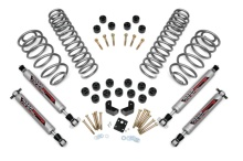 "Rough Country 3.75"" Combo Suspension Lift kit - Jeep TJ Wrangler 97-06"