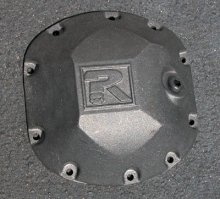 Riddler Mfg. Differential Cover - Iron - Dana 30