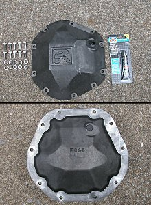 Riddler Mfg. Differential Cover - Iron - Dana 44