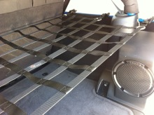 Raingler Jeep JK 4-dr Wrangler Unlimited Shelf/Cargo Net