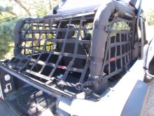Raingler Jeep Wrangler JK Rear Window Area Net