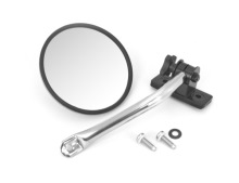 Rugged Ridge Mirror Relocation, Stainless Steel, Includes Mirror, Jeep Wrangler (TJ) 97-06, (JK) 07-11, LH or RH Does One Side