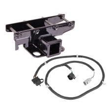 Rugged Ridge Receiver Hitch Kit with Wiring Harness, 07-13 Jeep Wrangler (JK)