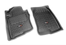 Rugged Ridge All Terrain Floor Liners, Front, Pair, Nissan Xterra 2005-2011, Pathfinder 2005-2011