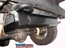 Skid Row TJ Gas tank skid plate