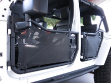 SpiderWebShade Jeep JK 4-door ShadeSkins