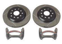 TeraFlex JK Front Performance Big Slotted Rotor Kit