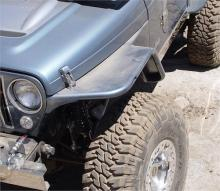 "TNT Customs TJ Tube Fenders, 6"" flare"