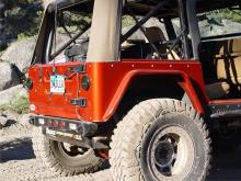 "TNT Customs Corner Armor - 3"" Flare Jeep Wrangler TJ"