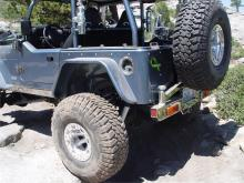"TNT Customs Corner Armor - 6"" Flare Jeep Wrangler TJ"