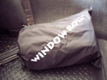 CloverPatch Window Roll Storage Bag