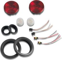 Warrior Products LED Light Kit, tail light & reverse light