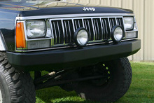 Warrior Products Rock Crawler Bumper, XJ