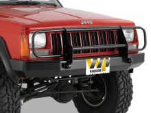 Warrior Products Bumper w/brushguard, d-rings, XJ