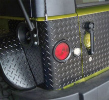 Warrior Products Rear Corners w/LED cutouts, JK