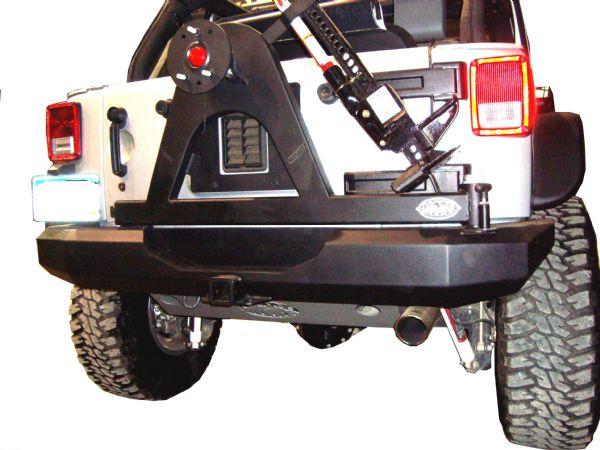 Rear bumper tire carrier jeep jk #3