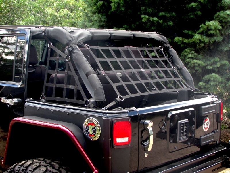 Raingler Jeep Cj Yj Tj Jk Wrangler Roof Back Window Net