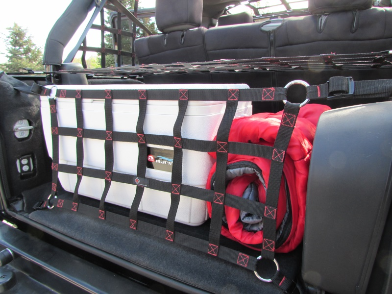 Raingler Jeep Jk Wrangler Tailgate Net 107jk