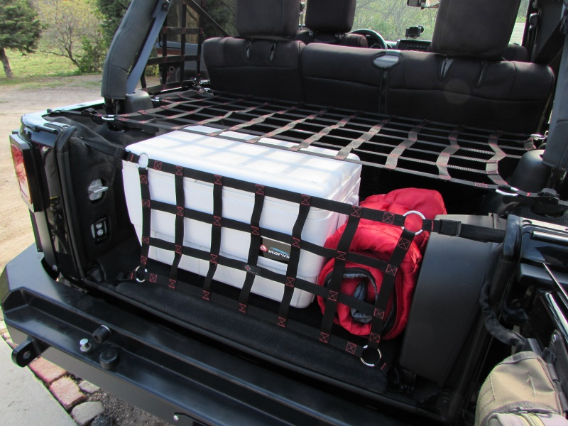 Raingler Jeep CJ/Wrangler Tailgate net | 107 ...