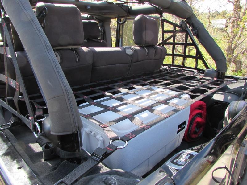 Raingler Jeep Jk 4 Dr Wrangler Unlimited Shelf Cargo Net