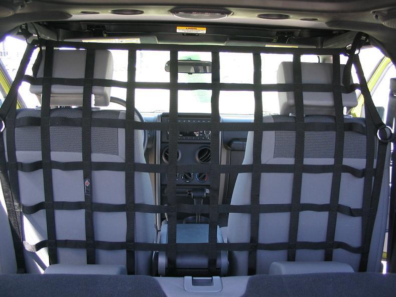 Raingler Jeep Wrangler Jk Tj Lj Yj Cargo Pet Divider 105