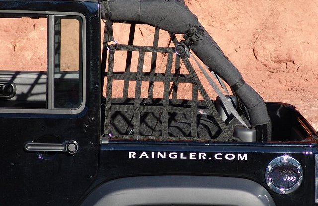Raingler Jeep Jk Wrangler 4 Door Side Window Nets 104