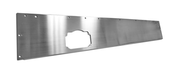 Rugged Ridge Replacement Dash Panel Blank Stainless